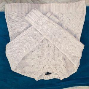 White Cord Sweater